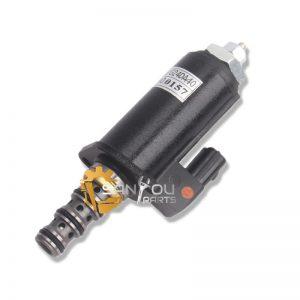 SK200-6 Safety Lock Solenoid Valve SK200-3 SK200-5 SK200-6 KWE5K-31 G24DA40