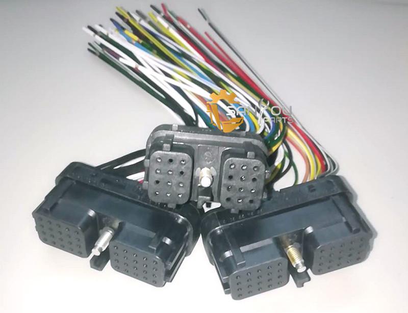 PC200-7 Controller Connector PC200-7 Controller Plug