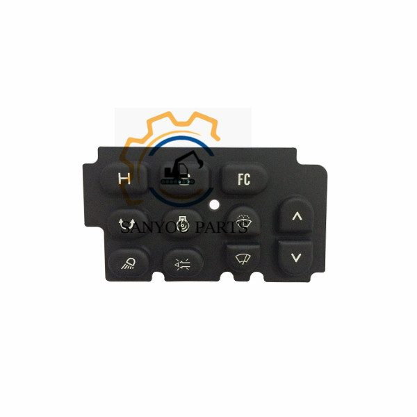 Kobelco MonitorRubber keypad SK200-2 Monitor Button