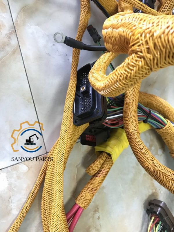 cat e320d wiring harness
