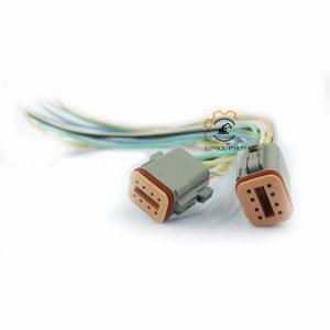 E320C Plug 8 Holes Plug For CAT Machine