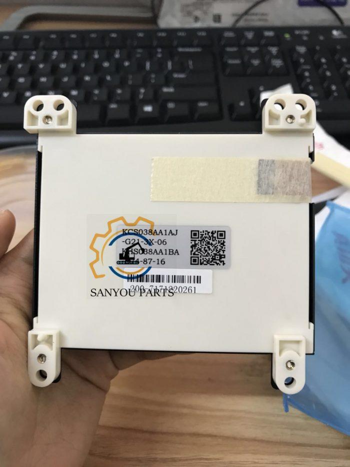 PC200-7 LCD Assembly PC200-7 Monitor LCD For Komatsu