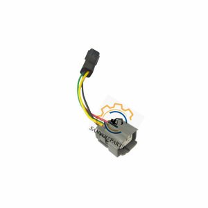 SK200-6E Throttle Motor Connector 3 Lines