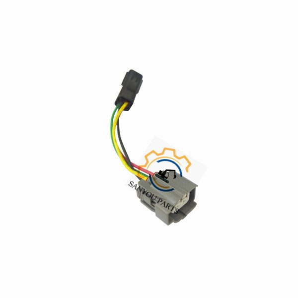 SK200-6E Throttle Motor Connector 3 Lines