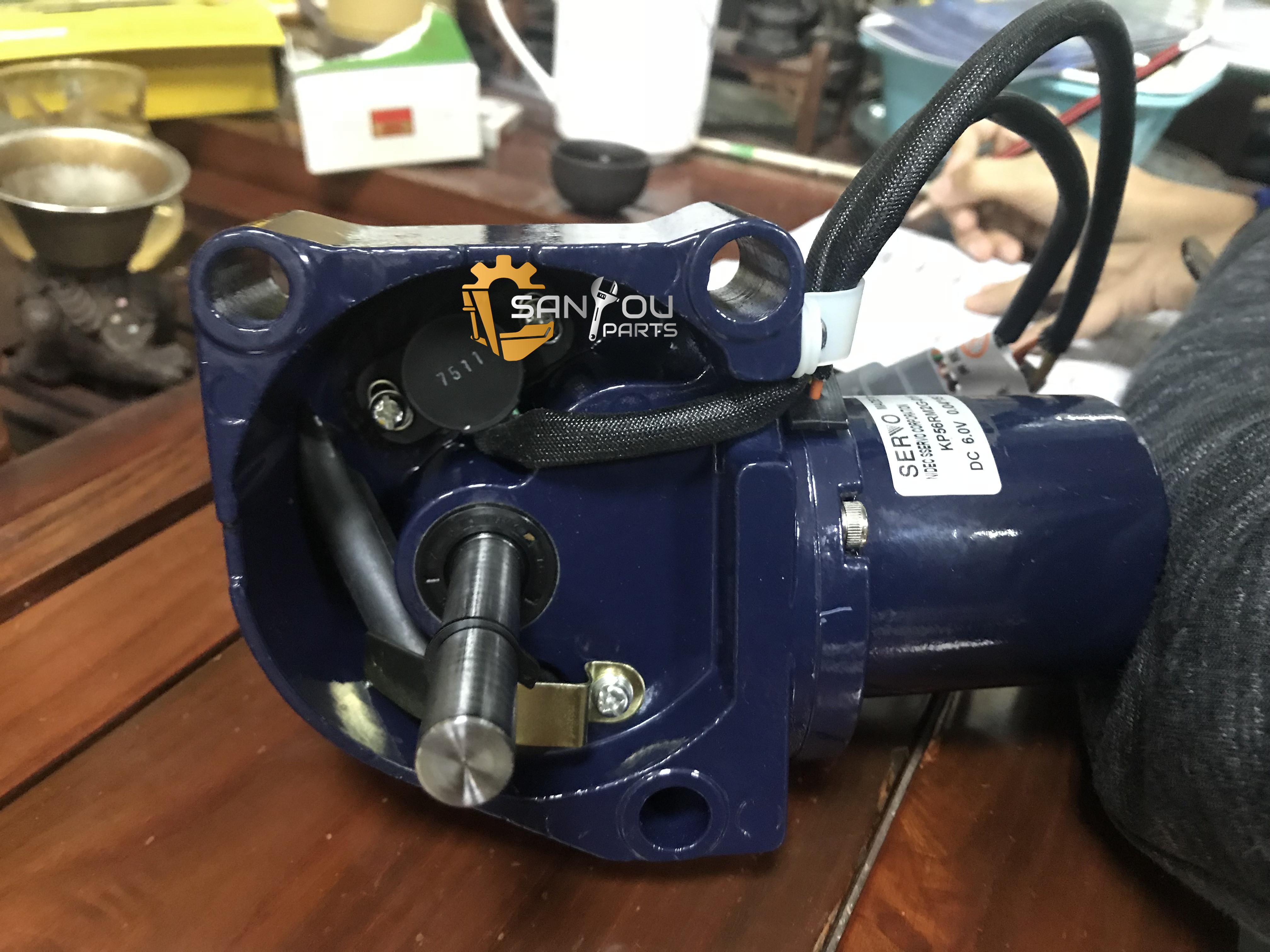 EX200-5 Throttle Motor 4360509 EX200-5 Accelerator Motor 4614911