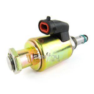 E325C Solenoid Valve For Caterpillar E325C E322C 122-5053 Solenoid Valve For Hydraulic Pump