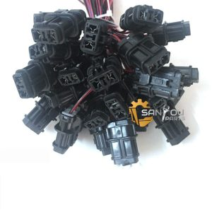 Sensor Plug For Komatsu PC200-7 PC200-8 PC200-6 Excavator 2 Lines