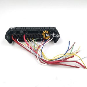 PC200-6 Fuse Box PC120-6 Fuse Box PC300-6 Fuse Box 15 Wires For Komatsu PC-6