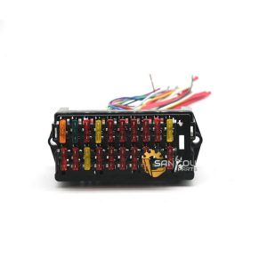 PC200-7 Fuse Box PC200-8 Fuse Box 20 Wires For Komatsu PC-7 PC-8