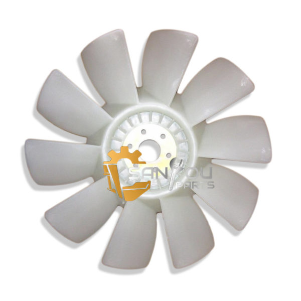 PC120-6 Fan Blade 600-625-7550 For 4D102 Engine