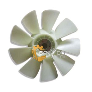 PC200-6 6D102 Fan Blade 600-625-7620 For Komatsu Excavator
