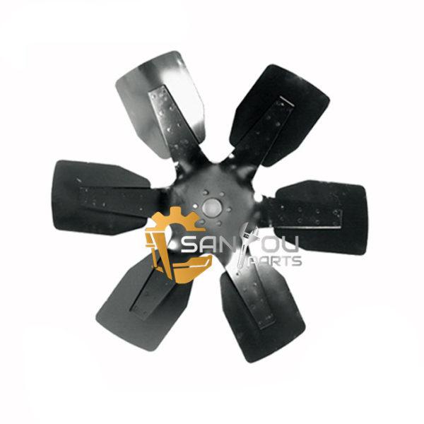 PC300-6 PC400-6 Fan Blade 600-635-7850 For Komatsu