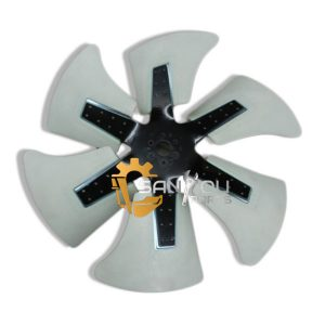 C400-7 PC450-7 Fan Blade 600-635-7870 For Komatsu Excavator