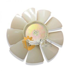 R220-5 Fan Blade 8 holes 9 leaves Fan Blade For Hyundai