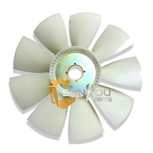EC210B Fan Blade VOE14504652 For Volvo 210 Excavator