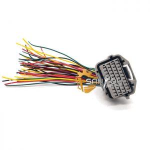 E330B ECM Sockets Controller Connector For CAT320B