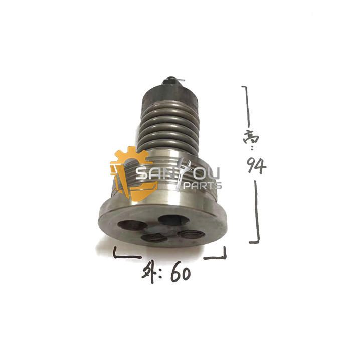 PC200-7 Check Valve ByPass Valve One-way Valve For Komatsu 200-7