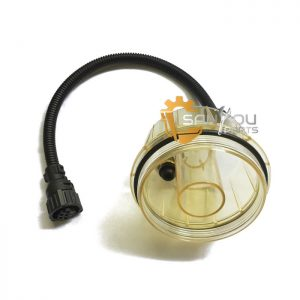 11110737 Oil Water Seperator With Cap Bowl For Volvo EC210 EC460