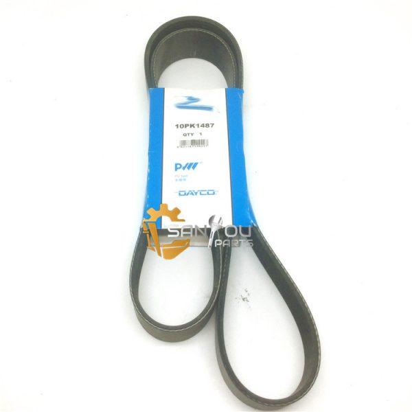 10PK1487 Belt For Volvo 17504066 17504064 17504065 Belt Drive Belt For Excavator