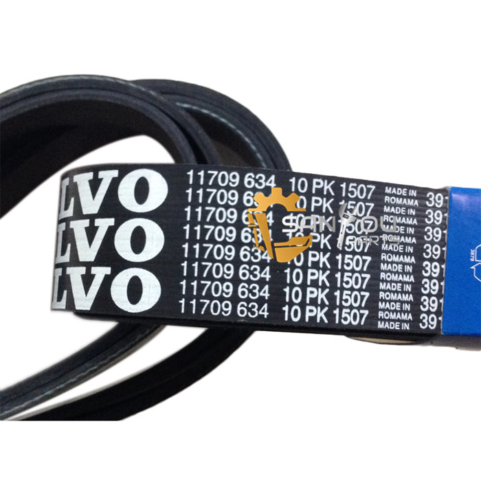 10PK1507 Belt For Volvo VOE11709634 Belt For Excavator