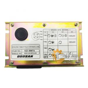 543-00074 Engine Throttle Controller For Doosan Daewoo