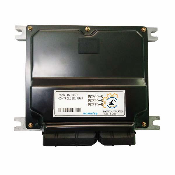 PC200-8 Computer Board Pump Controller 7835-46-1007 For Komatsu