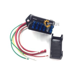 PC60-7 Fuse Box 6 Wires For Komatsu PC60