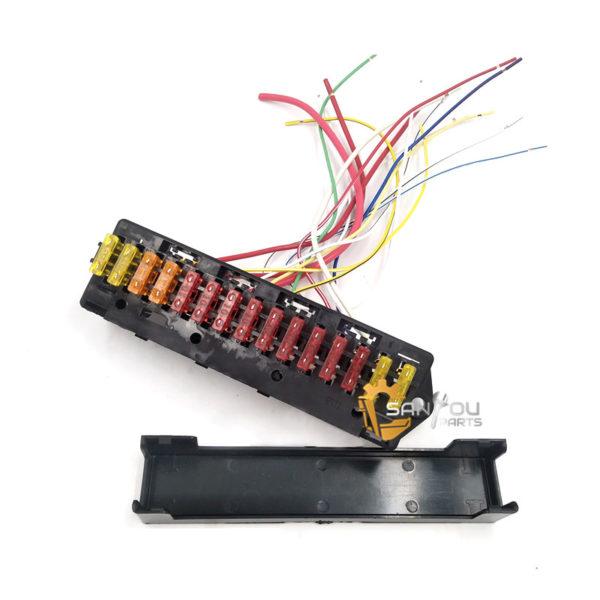 PC200-6 Fuse Box PC120-6 Fuse Box PC300-6 Fuse Box 15 Wires For Komatsu PC-6