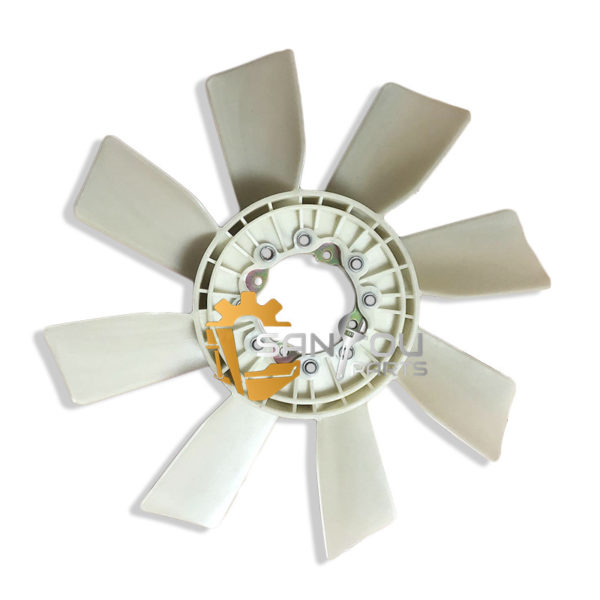 EX200-3 Fan Blade 1-13660140-0 6BD1 Fan Blade 2