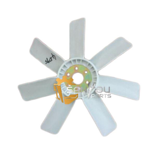 PC100 600-625-0520 Fan Blade PC60 Fan Blade For 4D95 Engine