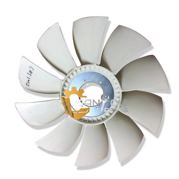 E320D Fan Blade For Caterpillar 320D Excavator