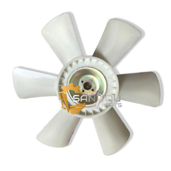 EX200-5 6BG1 Fan Blade 4 Holes 6 leaves