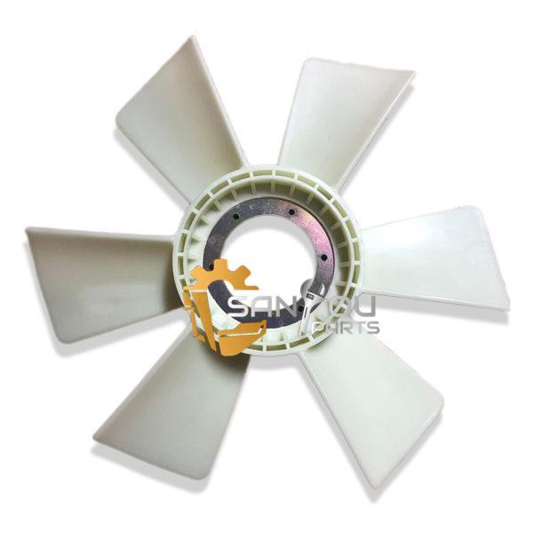 EX300-2 Fan Blade 6SD1 Fan Blade 6 Holes 6 Leaves