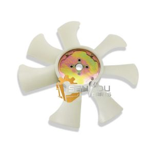 EX60 Fan Blade 4JB1 21060-90069 SH60 Fan Blade For Hitachi