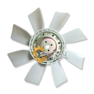 HD800 Fan Blade For 6D14 Engine ME039960 4 Holes 8 Leaves For Kato