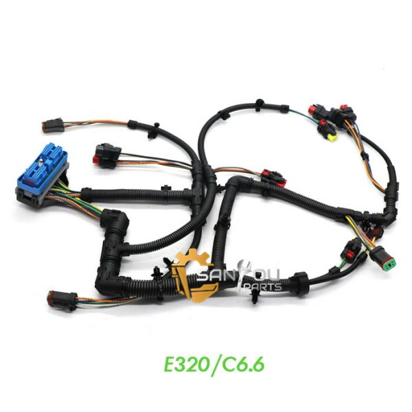 260-5542 Wiring Harness Cable For Caterpillar CAT C6.6 Engine Wire Harness 320D 323D
