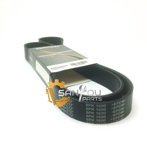8PK1600 Belt For Volvo Belt Drive Belt For Excavator