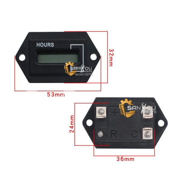 Hour Meter For Sumitomo Construstion Machine Hour Meter With Remote